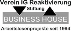 Logo IG Reaktivierung Stiftung Business House