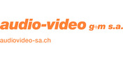 Logo audio-video g+m s.a.