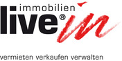 Logo live-in immobilien