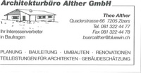Architekturbüro Alther GmbH